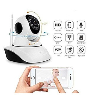 V380 HD 720P night vision wireless wifi cctv camera