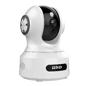 D3D 826 Alexa Enabled smart tracking wifi wireless night vision home security cctv camera
