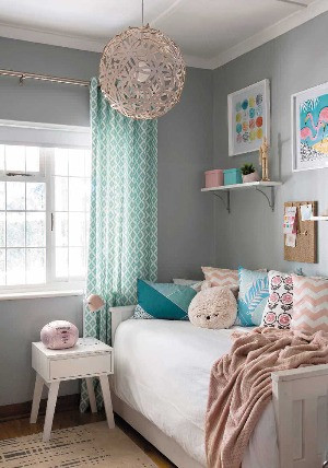 Make your childs room magical with ideas from these beautiful rooms.