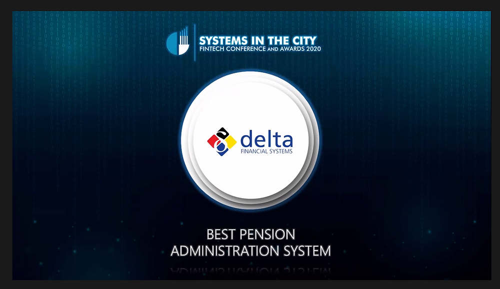 Systems In The City| Best Pension Administration System| Delta