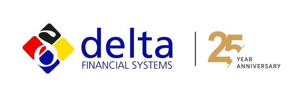 Delta Logo with 25 Year Anniversary