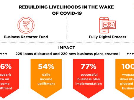 Udhyam Vyapaar's Micro-Restarter Funds | Rebuilding Livelihoods for Nanopreneurs