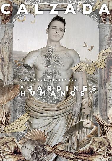 Jesús Calzada Art Gallery. Jardines Humanos. Collages Digitales y Litografías.