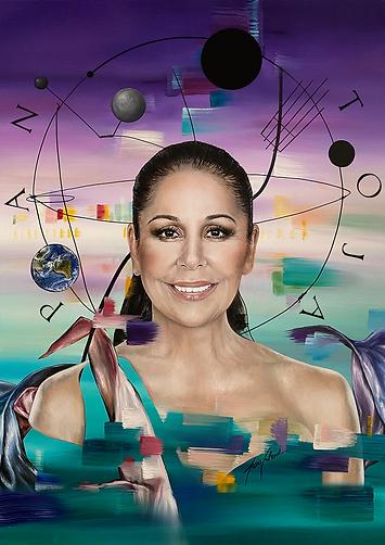 Jesús Calzada Art Gallery. Colaboracíón portada último videoclip Isabel Pantoja.