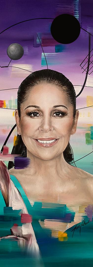 Portada del último videoclip de Isabel Pantoja, by Jesús Calzada.