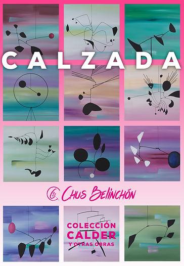 Jesús Calzada. Obra homenaje inspirada en Alexander Calder y al apostolado del Greco