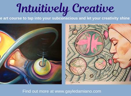 Get Creative and Explore your Natural Intuition with these Art Classes - Beginning August 31!