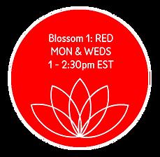 Blossom 1 Red