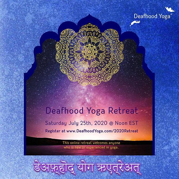 Deafhood Yoga Retreat