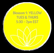 Blossom 1 Yellow