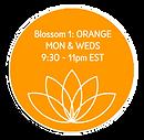 Blossom 1 Orange