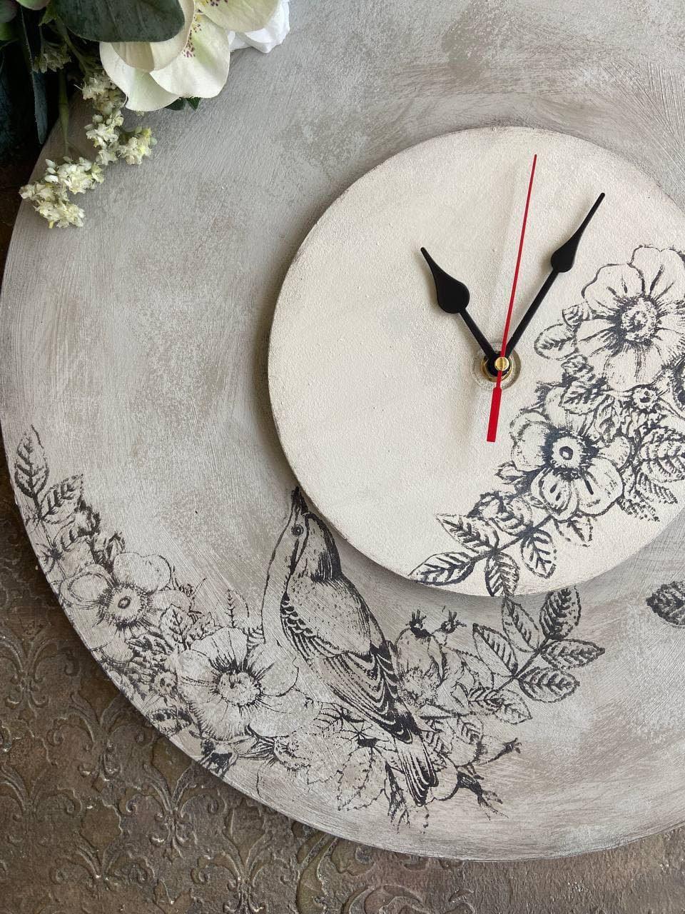 "Часы ""Цветы и птицы""   28 окт 19:00"