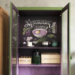Роспись шкафа и градиент