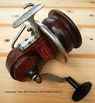 Seamartin vintage fishing reel rare model 2 crank handle view