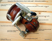 Seamartin vintage fishing reel rare model 2 Specifications