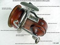 SEAMARTIN vintage fishing reel First model made