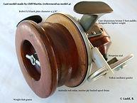 1- Seamartin model 4 last wooden version made by Cliff Martin