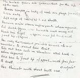 1-Seamartin hand written information by