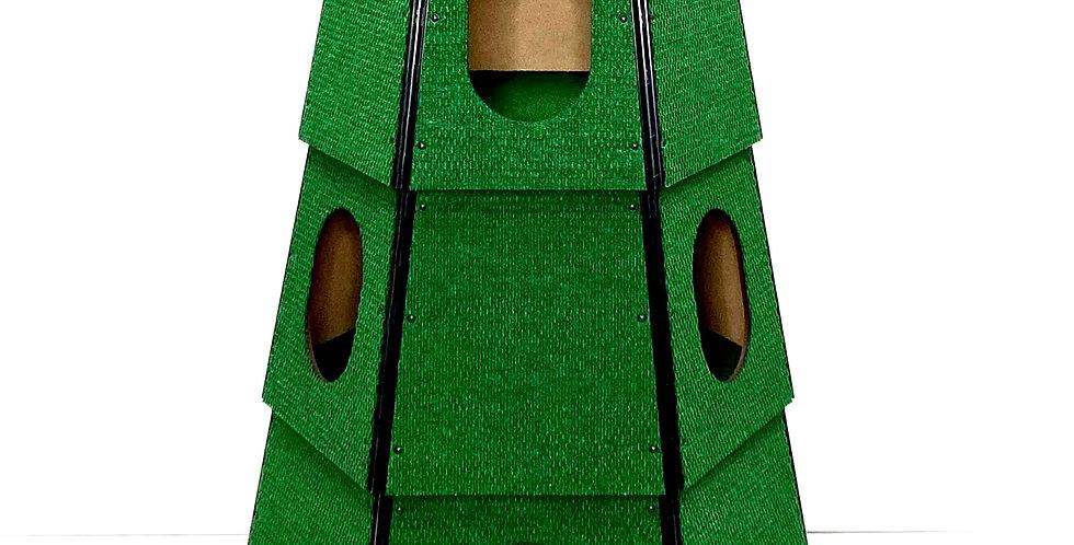 HEXAGON HAPPYSTACK GREEN - 3 STACK