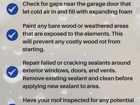 Winterize Your Home!