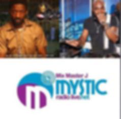 mix master jay on Mystic radio with J-Nile