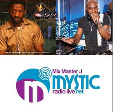 mix master jay on Mystic radio with J-Nile