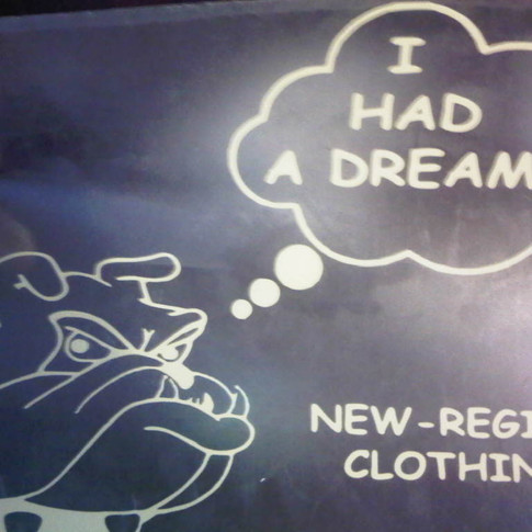 I HAD A DREAM T-SHIRTS £15