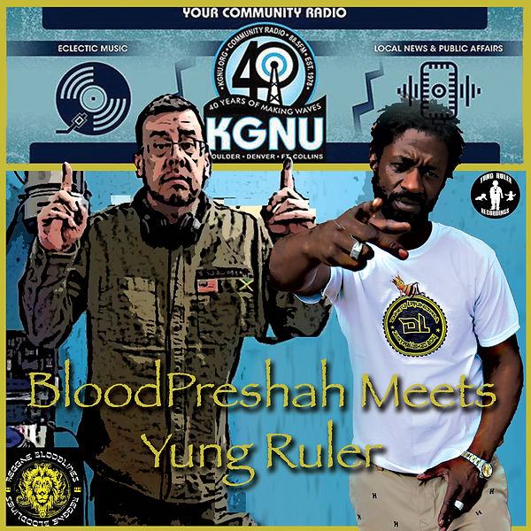 KGNU RADIO with DJ Bloodpreshah and J-Nile interview big epic