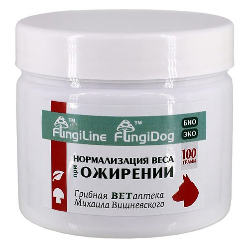 FungiDog «Нормализация веса при ожирении» • 100 г