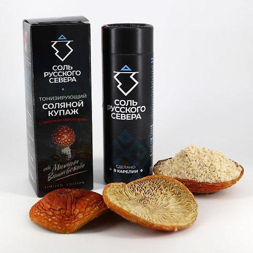 Тонизирующий соляной купаж с красным мухомором от Михаила Вишневского • Limited