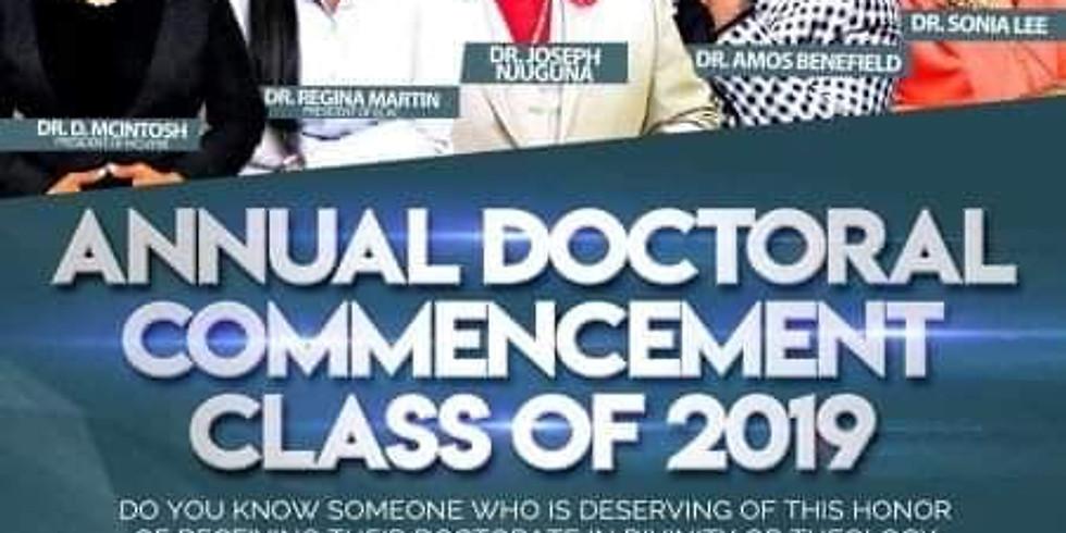 Heart Bible Institute University Doctoral Graduation September 14th 2019 (2)