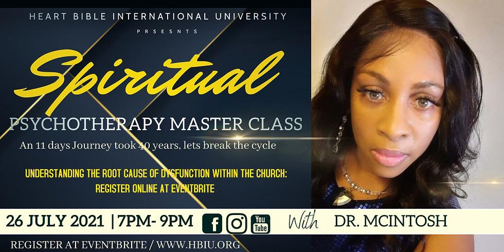 Spiritual Psychotherapy Master Class