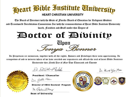 Doctor of Theology Deposit