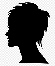 118-1181343_short-female-hair-on-side-view-woman-head.png
