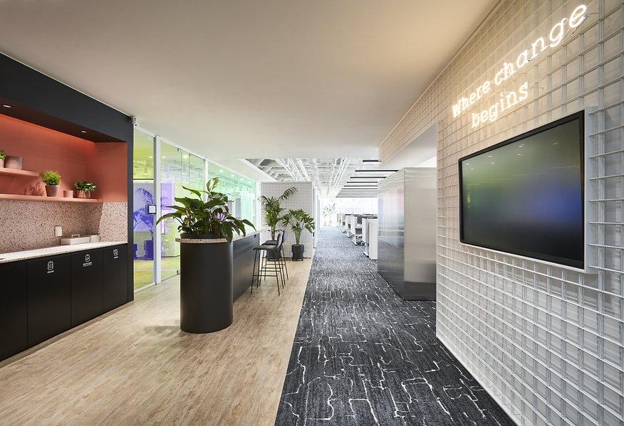 Fursys Head office Renewal interior