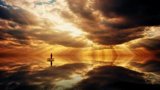 A fé de quem não sabe o que é Deus.