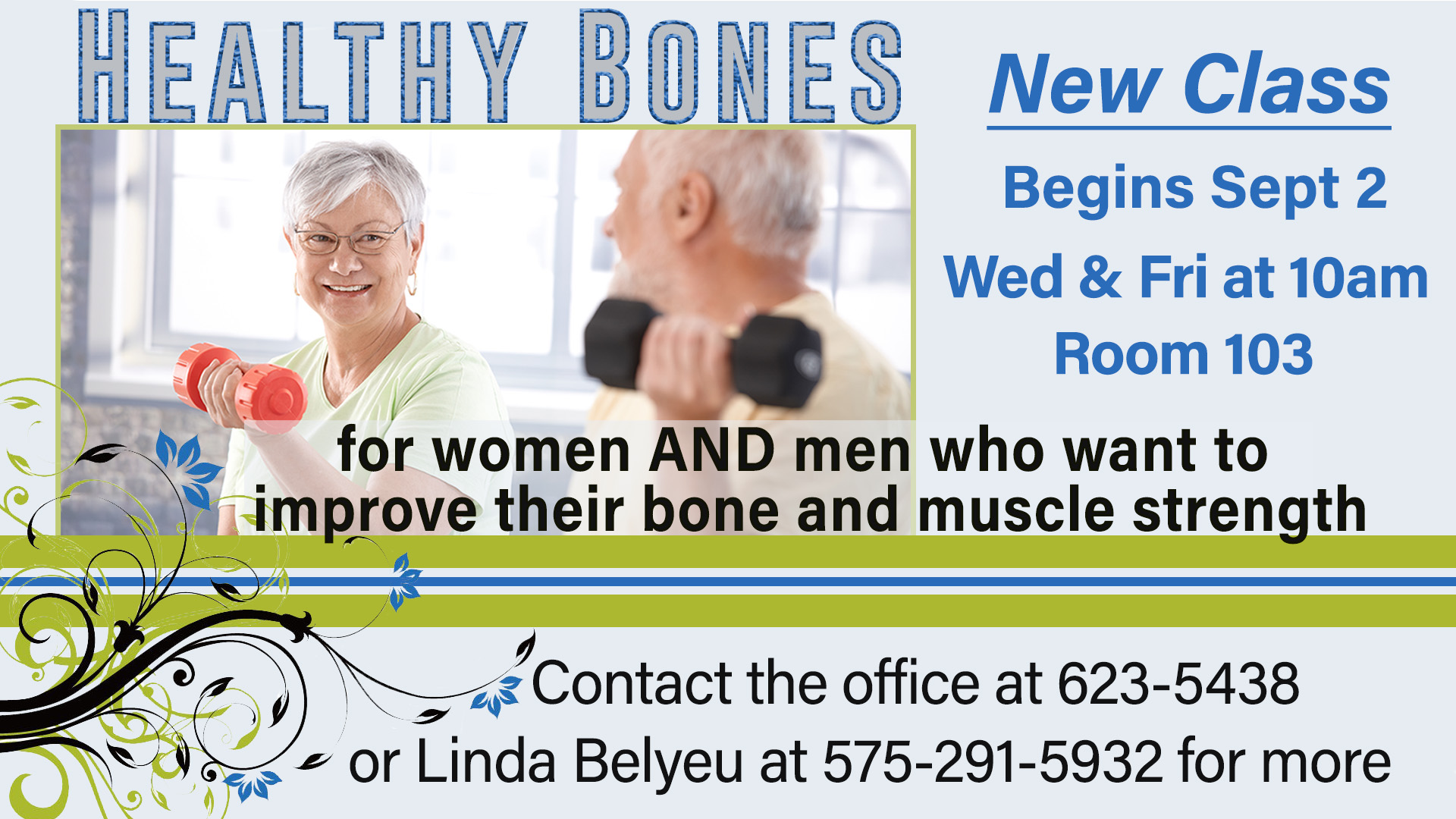 Healthy Bones Announcement