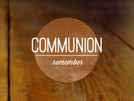 Communion Meditation