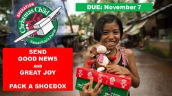 2021 Operation Christmas Child - promo