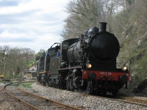 Steam train ride Tremblade