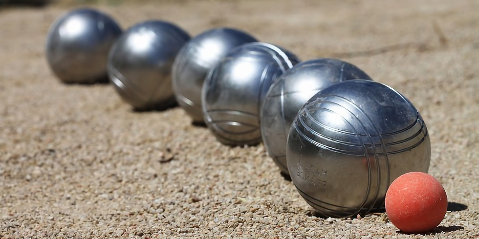 Boules afternoon with optional pizza lunch