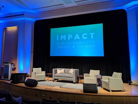 IMPACT 2019 - Sustainability, Travel & Tourism