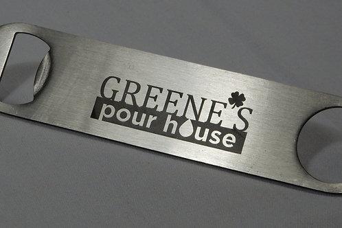 Greene's Pour House bottle opener