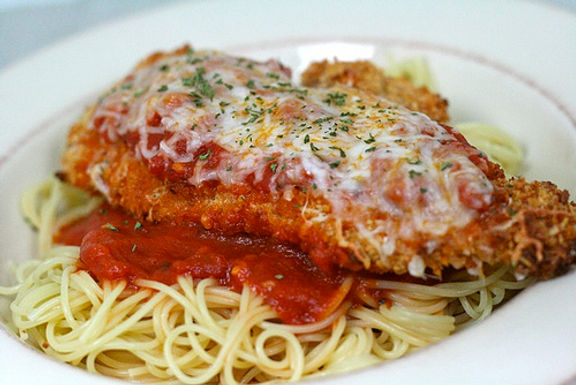Italian Steak Parmesan