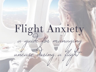 Flight Anxiety:  Managing Unease During a Flight