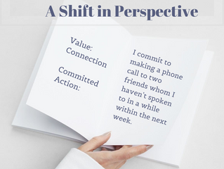 Values Based Living: A Shift in Perspective