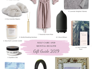 Self Care and Mental Health Gift Guide