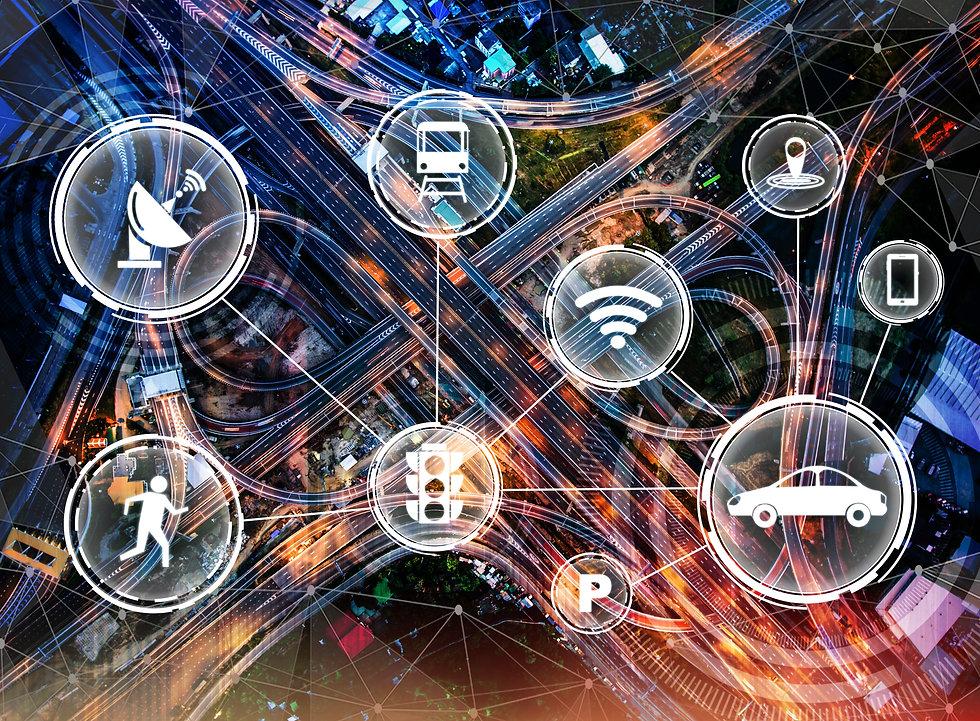 Smart transport technology concept for f