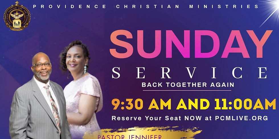Sunday Service with PCM @ 11:00am