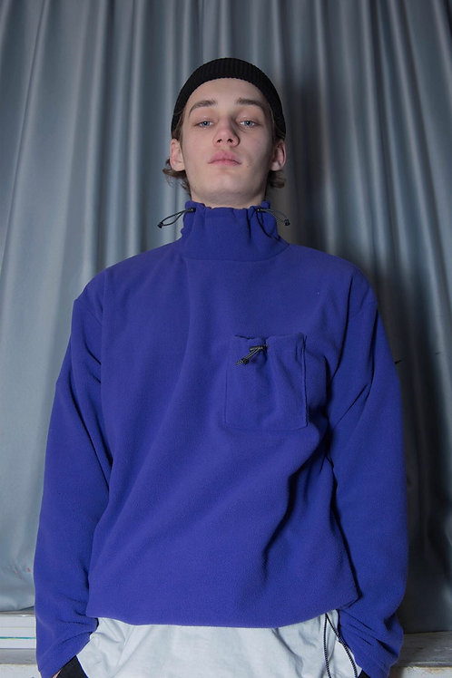 Rsst String fleece turtleneck 17秋冬 高圆领卫衣 两色